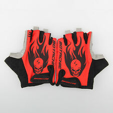 Gel Pad Gloves  Sportswear Cycling Riding Gloves Breathable Half Finger