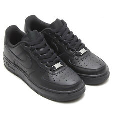 NIKE AIR FORCE 1 LOW BLACK/BLACK GRADE SCHOOL SIZES (GS) STYLE# 314192-009