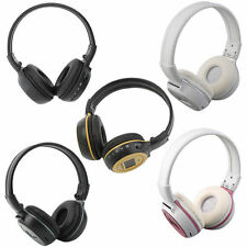 Plug Card Style Hi-Fi Digital Stereo Music Wireless Headphones N65 Fashion YK