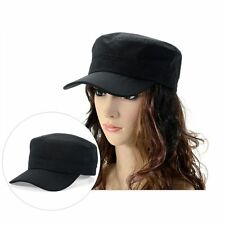 Men Womens Adjustable Army Plain Hat Cadet Military Cadet Baseball Sport Cap Hot