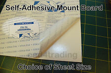 Self-Adhesive Mount Mounting Board Re-positionable Xtra-Tak Card Choose Size