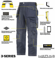 Snickers 3214 Trousers Canvas Holster Work Trousers Snickers Direct Navy