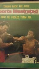 1974  Muhammed Ali / CASSIUS CLAY  Wins TITLE AGAIN!!!  BOXING ORIGINAL