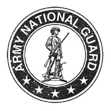 ARMY NATIONAL GUARD T-SHIRT (UNISEX FIT)  MILITARY ARMED FORCES