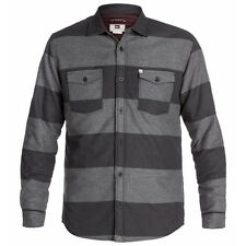 Quiksilver Men's Wighter Shirt Dark Charcoal