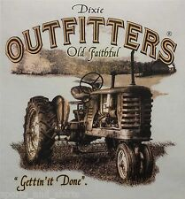 DIXIE OUTFITTERS OLD FAITHFUL TRACTOR FARMING HOODED SWEATSHIRT #6840 HOODIE