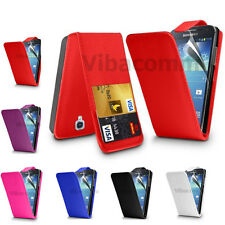 NEW LEATHER FLIP CASE COVER FOR SAMSUNG GALAXY FAME S6810 FREE SCREEN PROTECTOR