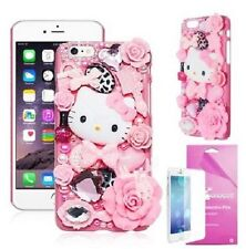 Luxury 3D Hello Kitty Crystal Rhinestone Pearl Diamond Bling Iphone 6/6S Case