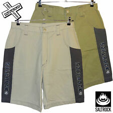 "SALTROCK 'MENS PANEL' MENS SHORTS CARGO CHINO LARGE 34"" WAIST SURF BNWT RRP £38"
