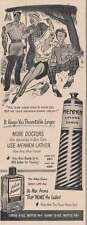 1950 Mennen Lather Shave: How to Hook Em Print Ad (16053)