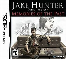 Jake Hunter Detective Story Memories Past DS Game  Brand New - Fast Ship