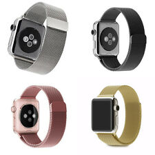 New Magnetic Loop Stainless Steel Wrist Watch Band Strap For Apple Watch iWatch