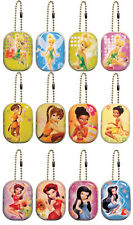 "Disney Fairies Tink Tinker Bell Keepsake Lockets Tins 2"" Party Favors Ball Chain"