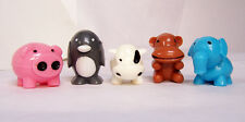 "NEW Zoo Sqwishland Squishy 2"" IN SEALED CAPSULE SQUISHIES 2"" Penguin Hard 2 Find"
