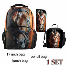 Fashion Animal Backpack,School Bag,Lunch Bag,Pencil Case One Set Sale Pack of 3
