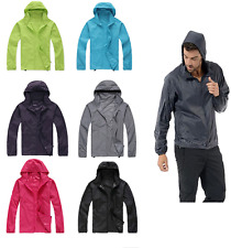 New Unisex Cycling Running Hiking Waterproof Windproof Jacket Outdoors Rain Coat