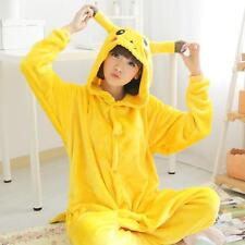 Pikachu Hot Unisex Adult Kigurumi Pajamas Anime Cosplay Costume Onesie Sleepwear