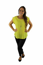 Basic Lover Top - Yellow Great Short sleeve top for work or casual BNWT