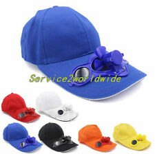 Summer Sport Outdoor Hat Cap with Solar Sun Power Cool Fan For Cycling YK