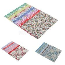 10x Vintage Floral Costume Repair Mend Applique Patch Quilting Fabric Charm Pack