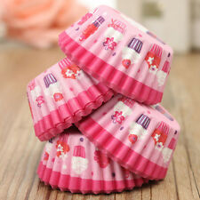 100Pcs Wedding Paper Cupcake Cases Wrapper Liner Baking Muffin Kitchen Party New