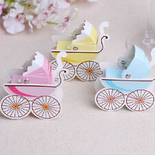 10pcs Wedding Candy Box Stroller Shape Party Wedding Baby Shower Favor Gift Box