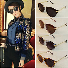 Fashion Women's Sunglasses Arrow Style Eyewear Round Sunglasses Metal Frame HA