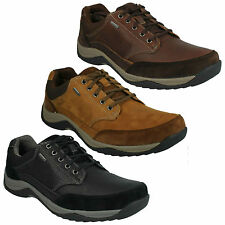 BAYSTONEGO GTX MENS CLARKS LIGHTWEIGHT LACE UP CASUAL OUTDOOR TRAINERS SHOES
