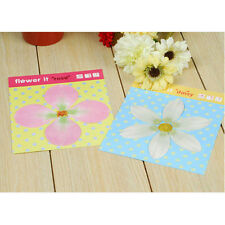 Cute Daisy Rose Flower Sticky Notes Sticker Marker Memo Pad Index Tabs