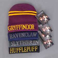 New Harry Potter Stripes Knit Hat Cap Beanie Preppy Costume winter girls boys