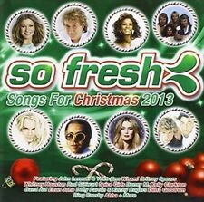 So Fresh: Songs for Christmas 2013 - V/A New & Sealed CD-JEWEL CASE Free Shippin
