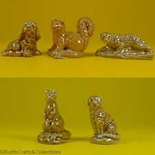 Wade Whimsie Figurines (1985/96 Set #2) USA Red Rose Tea Animals - Selection A