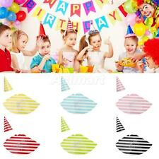 12Pcs Wedding New Year Party Celebration Hat Kids Adult Birthday Cap Venue Decor
