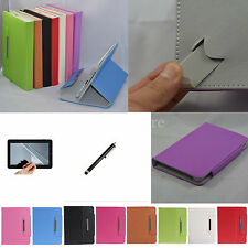 """Colorful Flip Leather Case Cover+Stylus+Film For Sprint Slate 10"""" Tablet PC"""