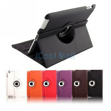 360 Rotating Swivel PU Leather Stand Smart Case Cover for iPad 2 3 4 Air 1 2 Pro