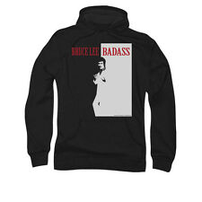 Bruce Lee Badass Hoodie Sizes S-3X NEW