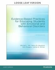 Evidence-Based Practices for Educating Students with Emotional and Behavioral...