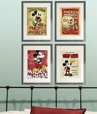 Disney Mickey Minnie Mouse Retro Classic Picture Print Poster  wall bedroom (F)