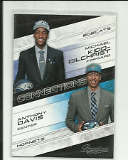 ANTHONY DAVIS MICHAEL KIDD-GILCHRIST 2012-13 PRESTIGE CONNECTIONS ROOKIE RC #1