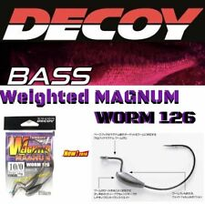 DECOY MONSTER WEIGHTED HOOK  MAGNUM WORM  126