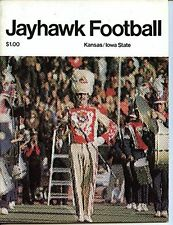 Kansas Jayhawks vs Iowa State Cyclones Football Program- 11/6/1976