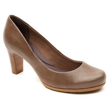 Rockport Womens Total Motion Pump Shoes Taupe Size 6 High Heel NEW IN BOX
