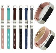 Single/Double Circle Leather Wrist Strap Band Bracelet For Fitbit Alta Tracker