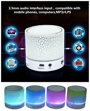 LED MINI Bluetooth Speaker A9 TF USB FM Wireless Portable Music Sound Box