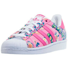 adidas Superstar W Womens Trainers Pink Multicolour New Shoes