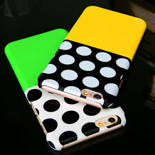 Fashion Polka Dot Pattern Glossy Hard Back Case Cover For Apple iPhone 6 6s Plus