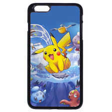 DIY Anime Pokemon Pikachu Surf For Samsung Galaxy & Apple iPhone iPod Case Cover