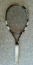 BABOLAT PURE DRIVE GT PLAY TENNIS RACKET, GRIP SIZE #4, NEEDS ATTENTION