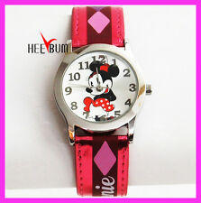 Disney Minnie Mouse Watch Stainless Steel casing gift mickey mouse Wristwatch