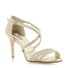 Dune Ladies HIGHLIFE Strappy Heeled Sandal in Champagne